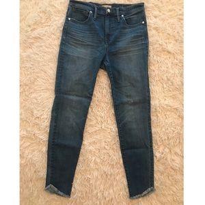Tulip-Hem Madewell Jeans